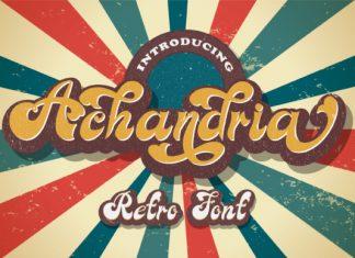 Achandria Script Font