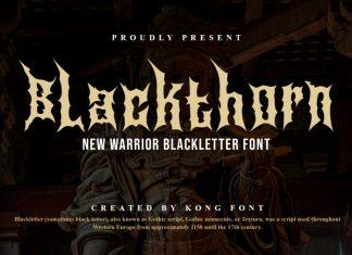 Blackthorn Blackletter Font