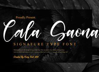 Cala Saona Script Font