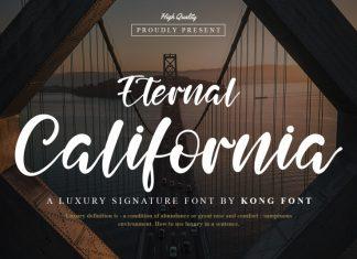 Eternal California Script Font