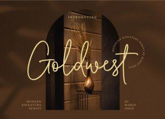 Goldwest Handwritten Font