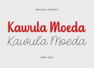Kawula Moeda Script Font