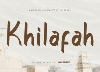Khilafah Display Font