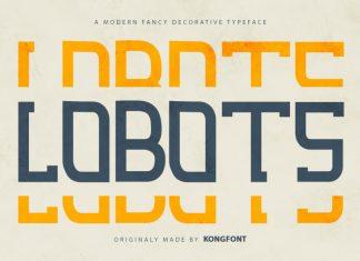 Lobots Display Font