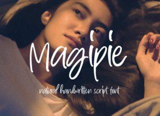 Magipie Script Font