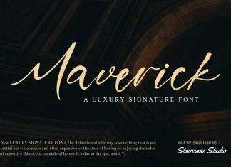 Maverick Script Font