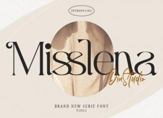 Misslena Serif Font