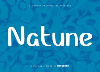 Natune Display Font