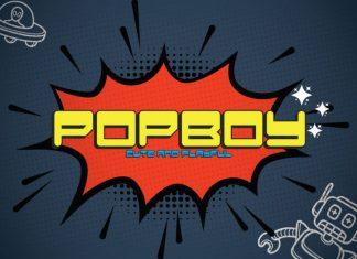 Popboy Display Font