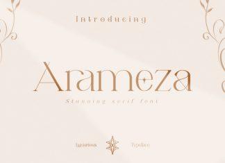 Arameza Serif Font