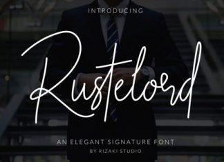 Rustelord Handwritten Font
