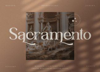 Sacramento Serif Font