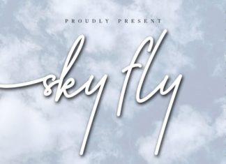 Sky Fly Script Font
