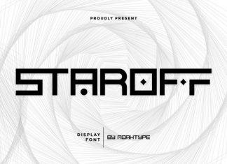 Staroff Display Font