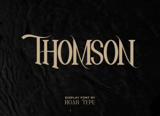 Thomson Serif Font