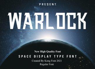 Warlock Display Font