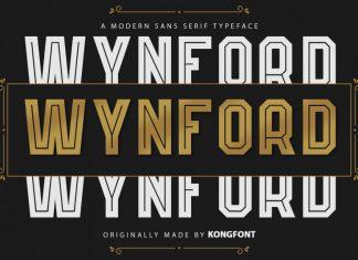 Wynford Display Font