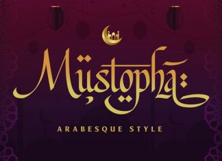 Mustopha Script Font