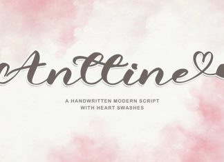 Anttine Script Font