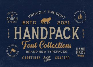 Handpack Script Font