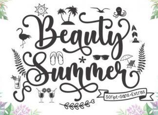 Beauty Summer Calligraphy Font