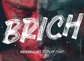 Brich Brush Font