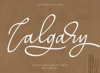 Calgary Script Font