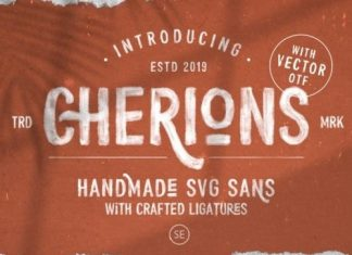 Cherions Display Font