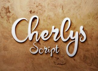 Cherlys Script Font