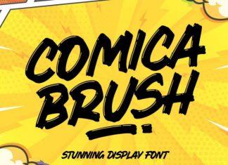 Comica Brush Font