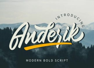 Anderik Script Font