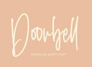 Doorbell Handwritten Font