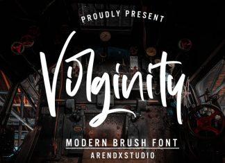 Virginity Script Font