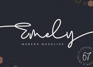 Emely Handwritten Font