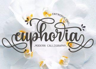 Euphoria Calligraphy Font