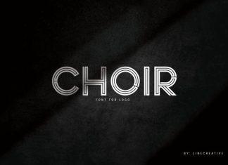 Choir Display Font