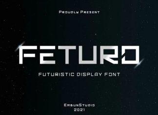 Feturo Display Font