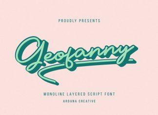 Geofanny Handwritten Font