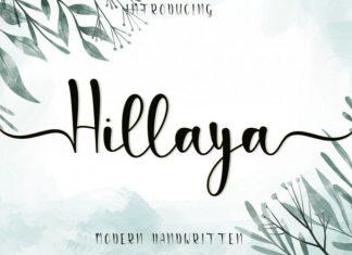 Hillaya Script Font