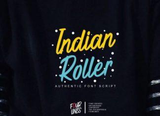 Indian Roller Handwritten Font