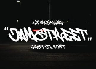 Jamstreet Brush Font
