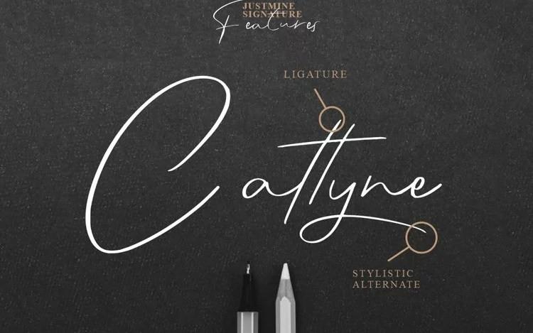 Justmine Handwritten Font