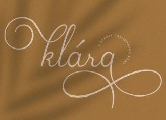 Klara Calligraphy Font