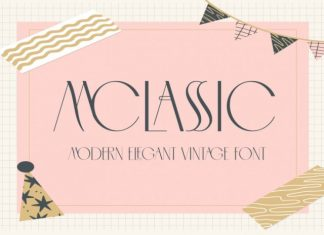 MCLASSIC Sans Serif Font