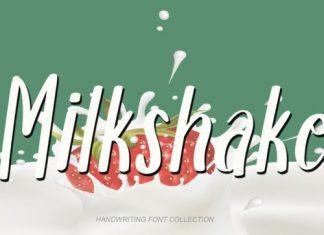 Milkshake Display Font
