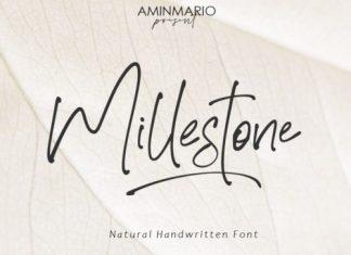 Millestone Handwritten Font