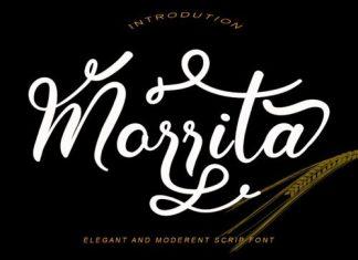 Morrita Calligraphy Font