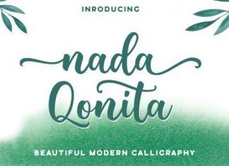 Nada Qonita Calligraphy Font