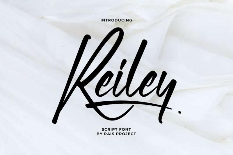 Reiley Script Font