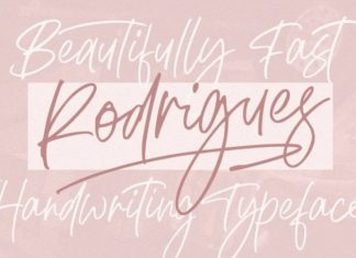 Rodrigues Script Font